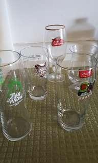 Beer glasses