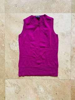 Brooks Brothers, Violet Sleeveless Top