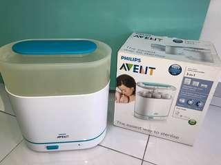 PHILIPS AVENT electric steam steriliser 3-in-1, BPA free, SCF285/01