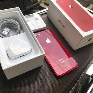 iPhone 8 64gb RED Garansi Resmi 4 Mei 2019