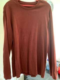 🚚 Long Sleeve T-Shirt (Maroon)
