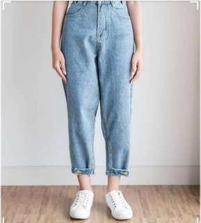 BOYFRIEND JEANS - LIGHT BLUE