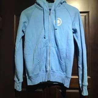 百貨公司專櫃 OLIVO 藍色鋪棉超暖外套