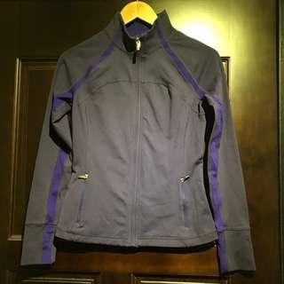 GAP BODY FIT 紫色運動外套