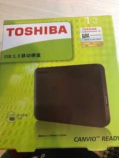 🚚 Toshiba 1tb 移動硬碟