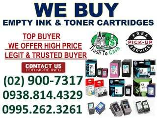 HIGHEST PRICE BUYER OF EMPTY INK AND TONER CARTRIDGES