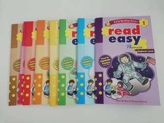 EARLY LEARNING SET READEASY PHONICS