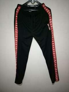 Celana Trackpants kappa tricot red