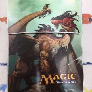 Deck box and sleeves