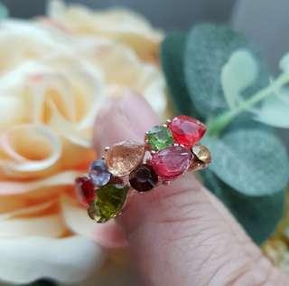 🚚 BN Rainbow Candy Ladies Ring