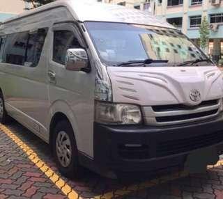 Passenger Transfer Van 13 pax