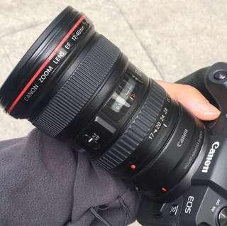 Canon 17-40mm f4.0 USM