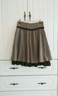 🚚 二手咖啡色裙