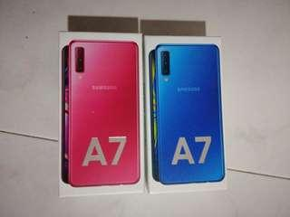 Samsung a7 2018 brand new sealed