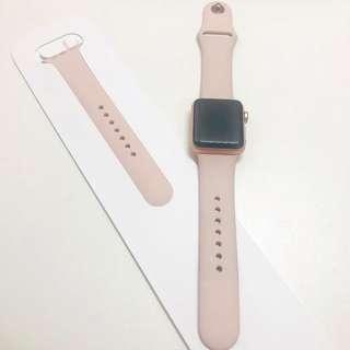 Apple Watch series 3 玫瑰金 38mm(GPS)