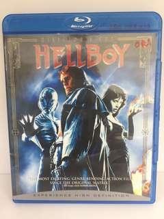 original DVD Hellboy blu-ray disc