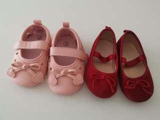 Baby Girl Shoes $8 tor 2