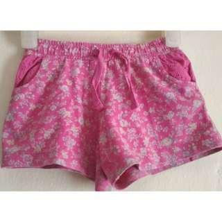 #FREEongkir Celana pendek pink bunga Mothercare 3Y