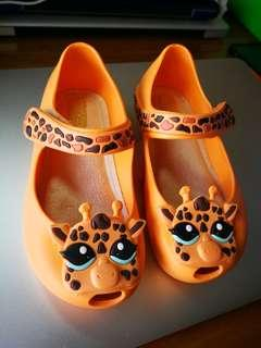 Mini Melissa Giraffe Shoes
