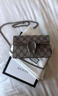 Gucci Super Mini Dionysus Tan