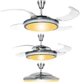 """BNIB 48"""" Fan - Authentic Retractable Fanaway [WITH SAFETY MARK]"""
