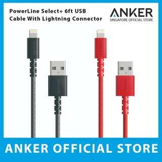 Anker PowerLine Select+ 6ft Lightning to USB Cable