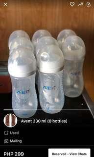 3 Bottles Left!! ORIGINAL AVENT