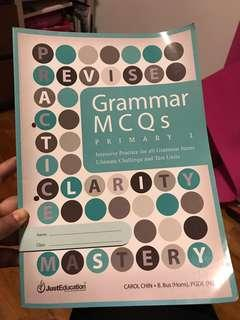 Grammar MCQ for P1