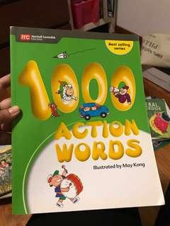 100 Action Words Picture Dictionary