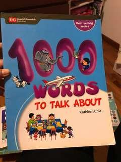 100 Words to talk about