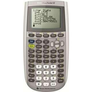 (No Caroupay) TI-84 Plus Pocket SE