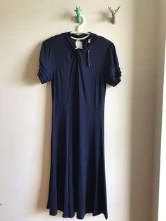 🚚 BNWT Navy Blue Maternity dress