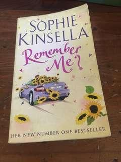 Remember Me, Sophie Kinsella