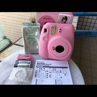 mini9同等級 全新富士mini 8+草莓粉💗富士拍立得 instax mini9同級-拍立得mini8 plus