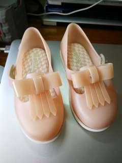 Mini Melissa Classic Pink Shoes
