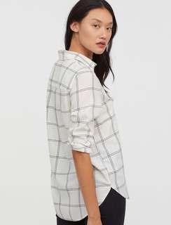 Plus size H&M Checked Shirt
