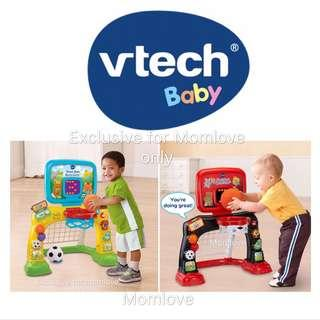 🚚 Ready Stock! Brand New Smart Shots Sports Center™ by VTech® 2 in 1 with soccer balls and basket included (Best Baby Boy Toddler Birthday Present) for 12-36m