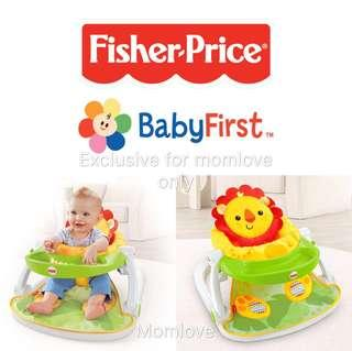🚚 Ready Stock ! Brand New Fisher Price Sit-Me-Up Floor Seat with Tray (Baby Shower Newborn Full Moon Present for Girl Boy) for Baby 6m+