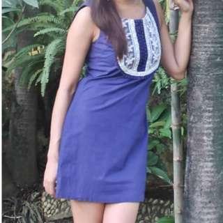 SALE Blue Dress
