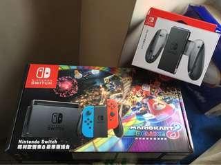 Nintendo Switch 全新連joy con