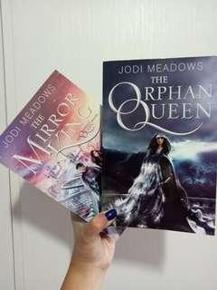 The Orphan Queen Duology by Jodi Meadows