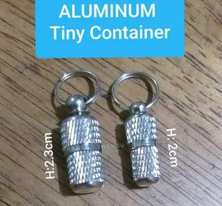 ALUMINUM TUBE CONTAINER