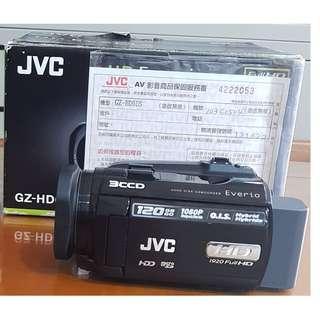🚚 JVC GZ-HD6U硬碟式120G攝影機傑偉世公司貨[1]