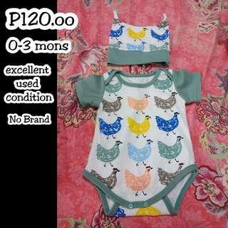 Baby prelove clothes