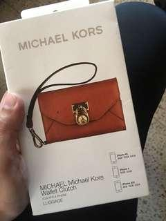 Michael Kors Wallet Clutch iPhone case