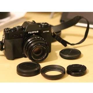 Fujifilm XT10 ($1800) + 35mm f/2 ($2300)