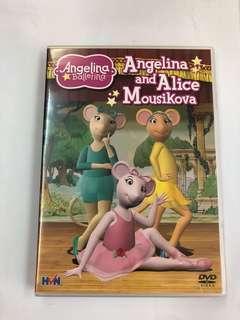 🚚 Angelina ballerina dvd (Angelina and Alice mousikova)