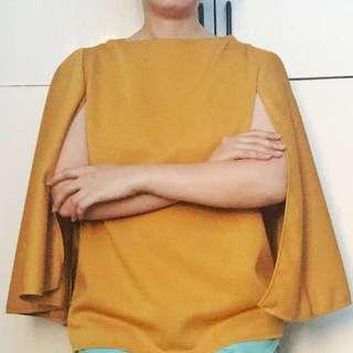 Yellow Cape Top