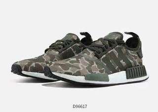 half off abdb3 c5301 Adidas Originals NMD R1 Boost Desert Camo Sneakers