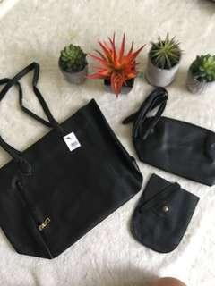 🔥Reserved to Mr. John🔥SM 3-in-1 bag (Black)